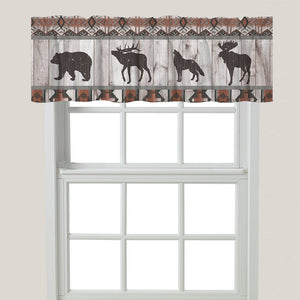 Southwest Lodge Window Valance