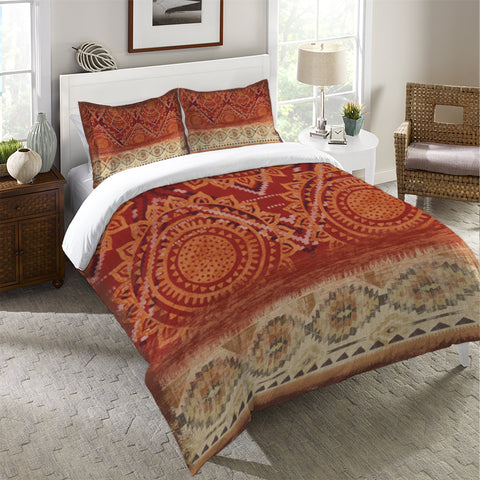 Southwest Medallion Duvet Cover