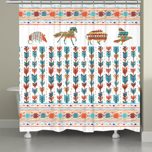 Southwest Vibes Shower Curtain