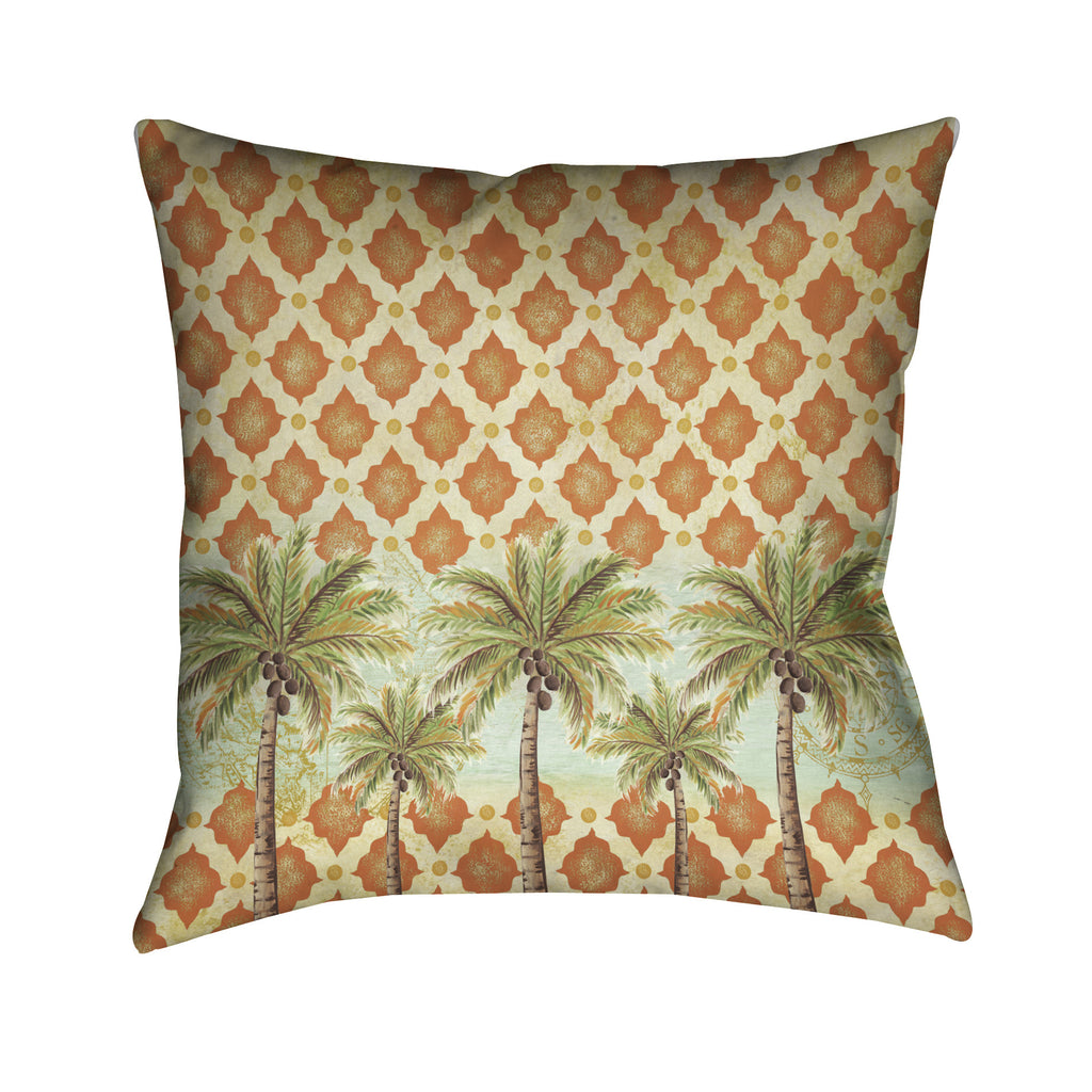 Spice Palm Indoor Decorative Pillow