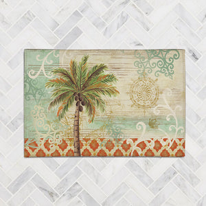 Spice Palm I Accent Rug