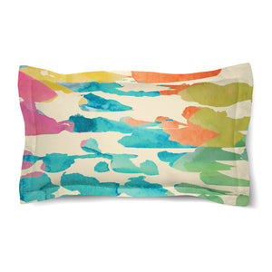 Splashes of Color Duvet Sham
