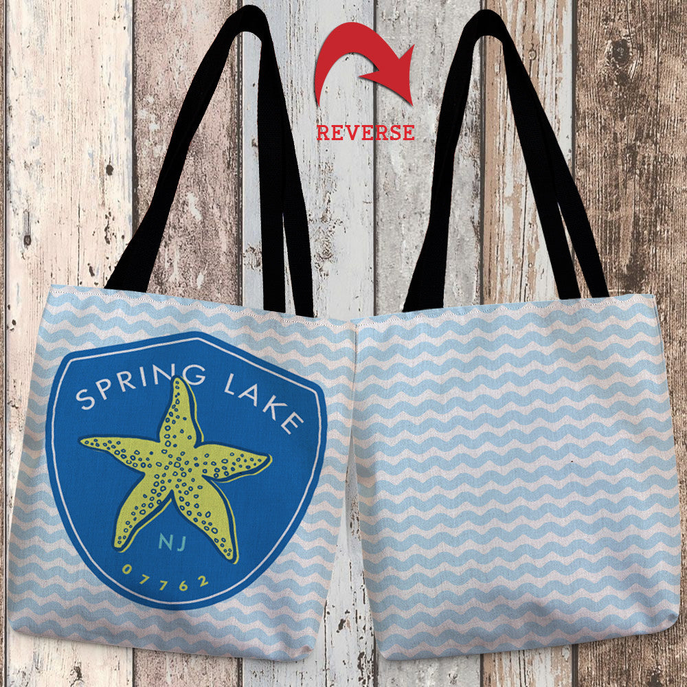 Spring Lake Canvas Tote Bag
