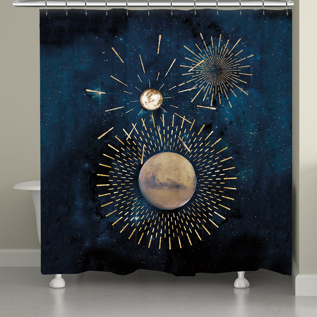 Star Gazed Shower Curtain