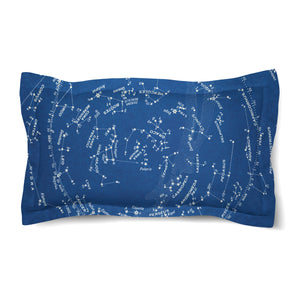 Stars and Constellations Chart Duvet Sham