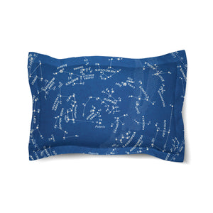 Stars and Constellations Chart Comforter Sham
