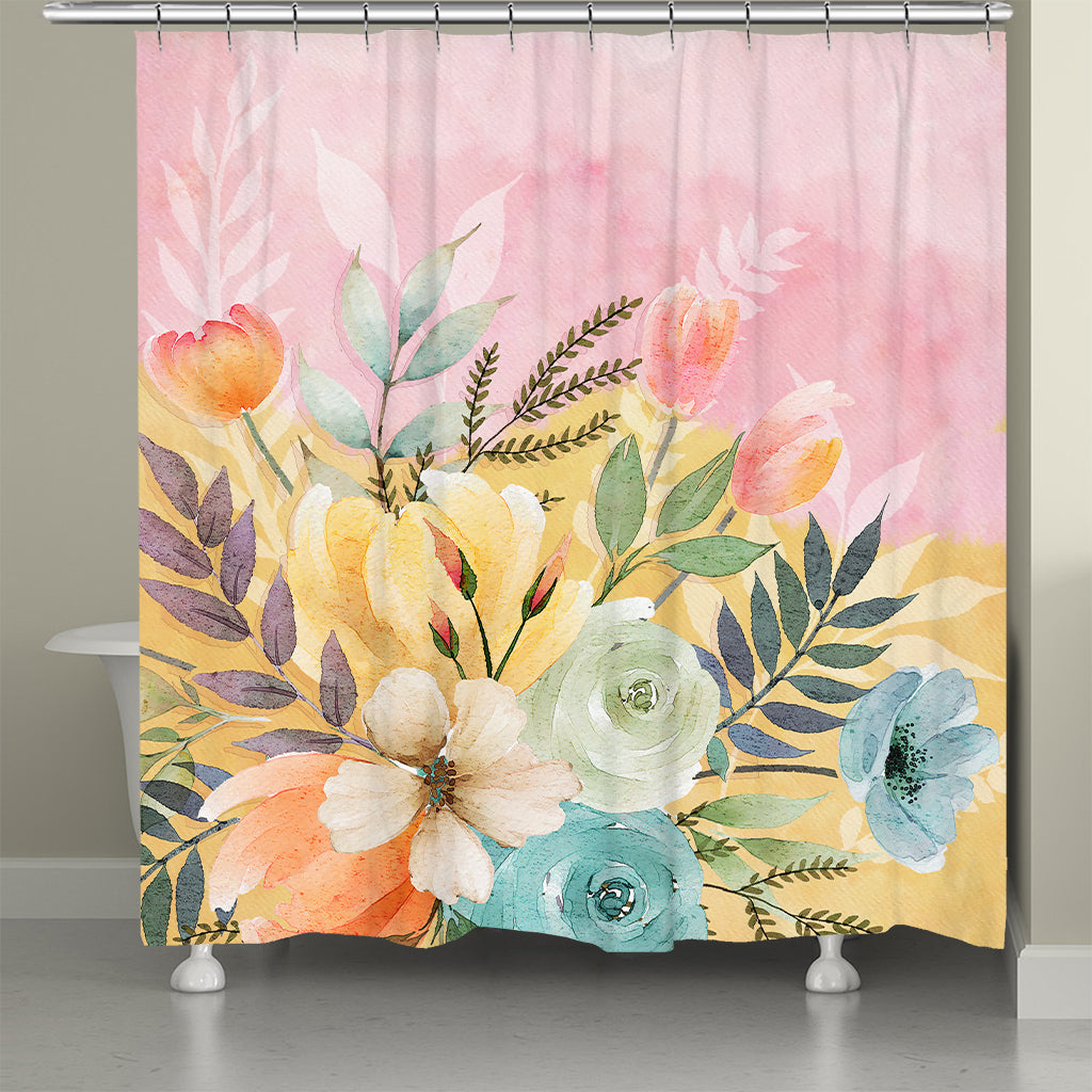 Sunday Morning Shower Curtain
