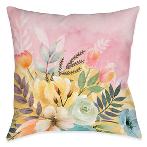 Sunday Morning Outdoor Decorative Pillow