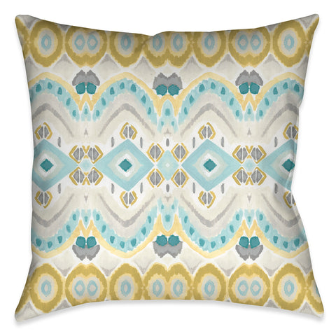 Textile Impressions I Outdoor Decorative Pillow