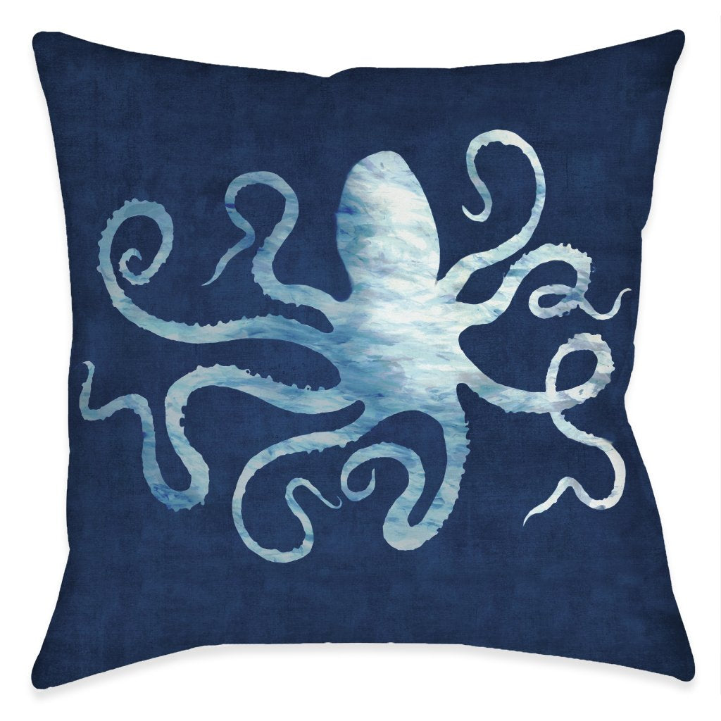 The Abyss Octopus Indoor Decorative Pillow