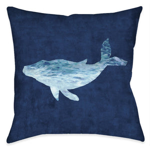The Abyss Whale Indoor Decorative Pillow