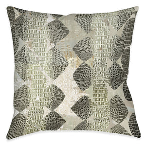 Thick Scaled Outdoor Decorative Pillow