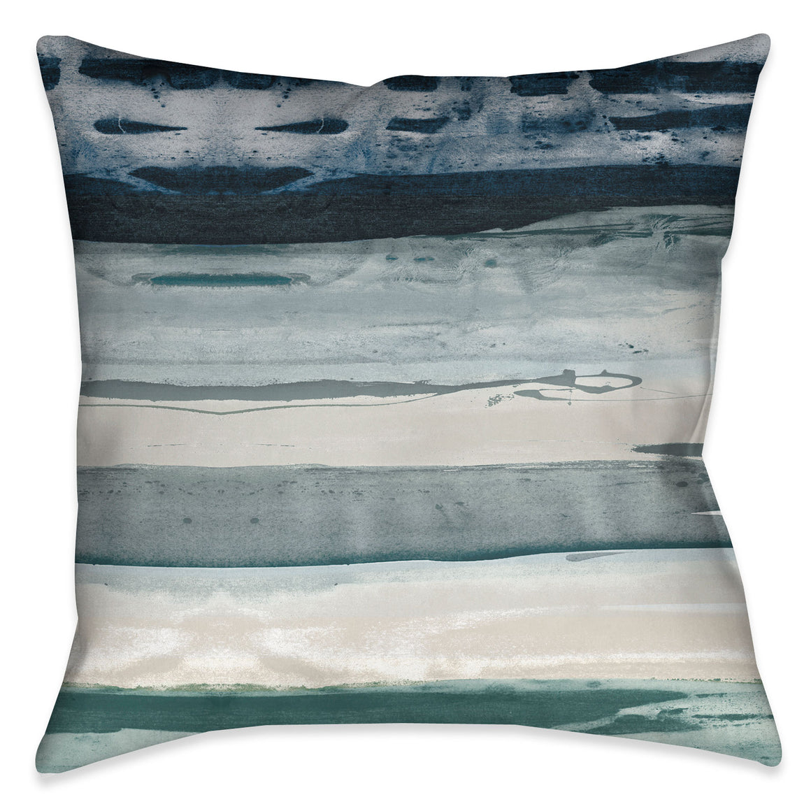 Tidal Impressions Indoor Decorative Pillow