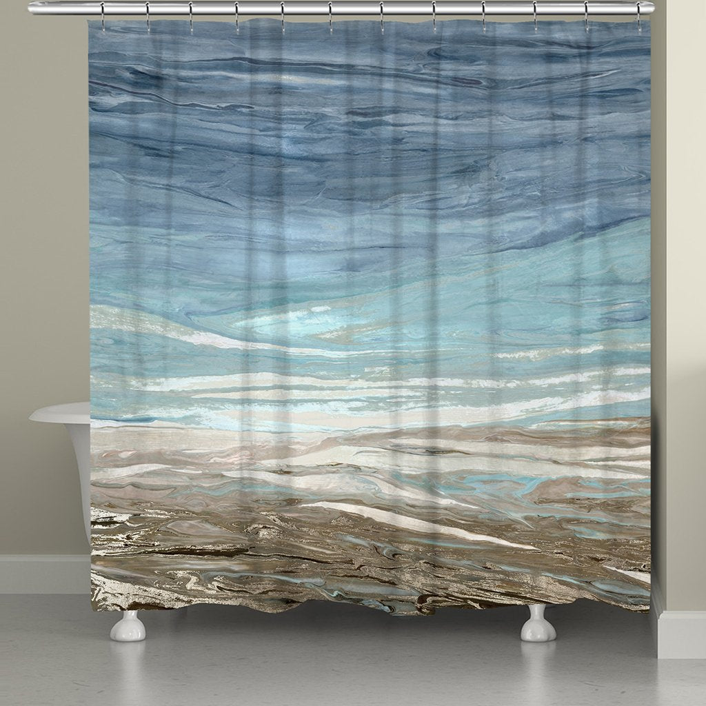 Tide Feelings Shower Curtain