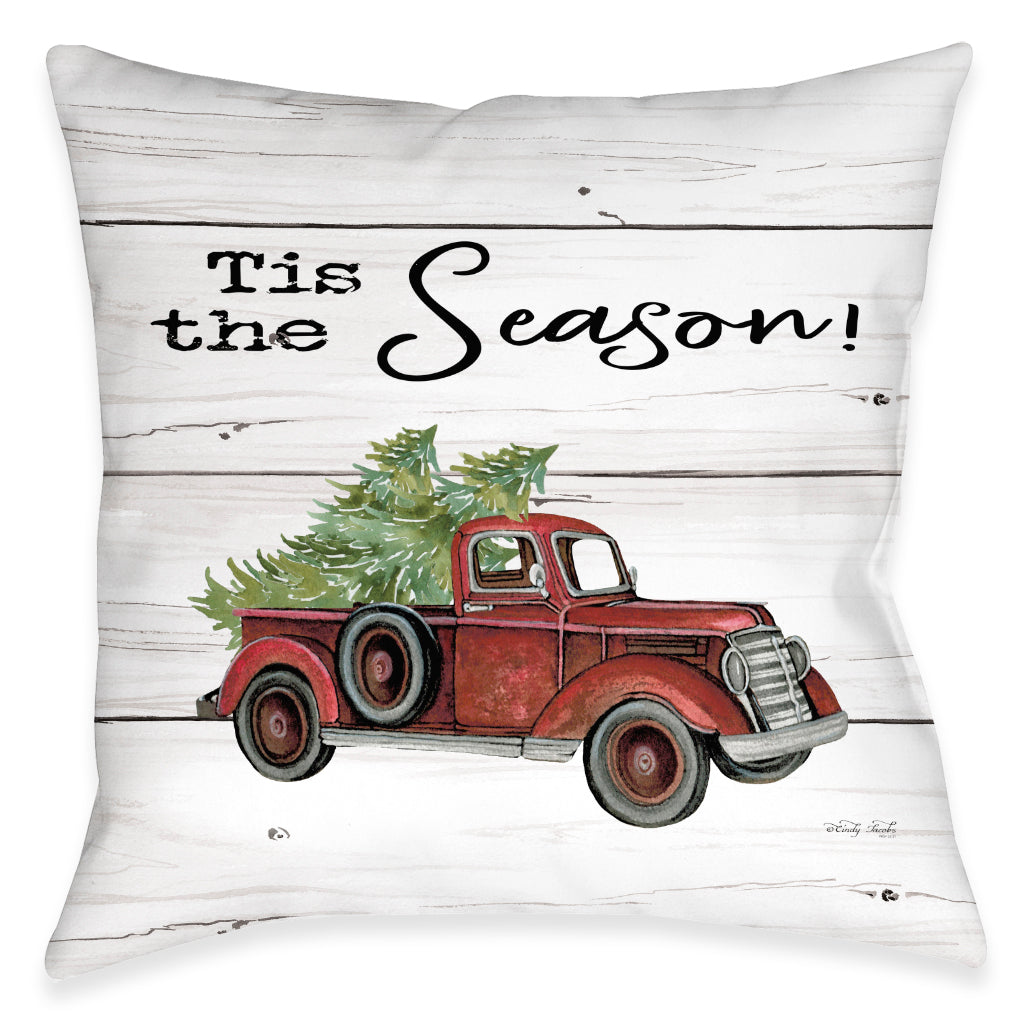 The Holiday Season Indoor Decorative Pillow