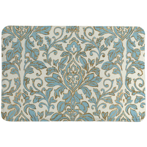 Antique Damask Memory Foam Rug