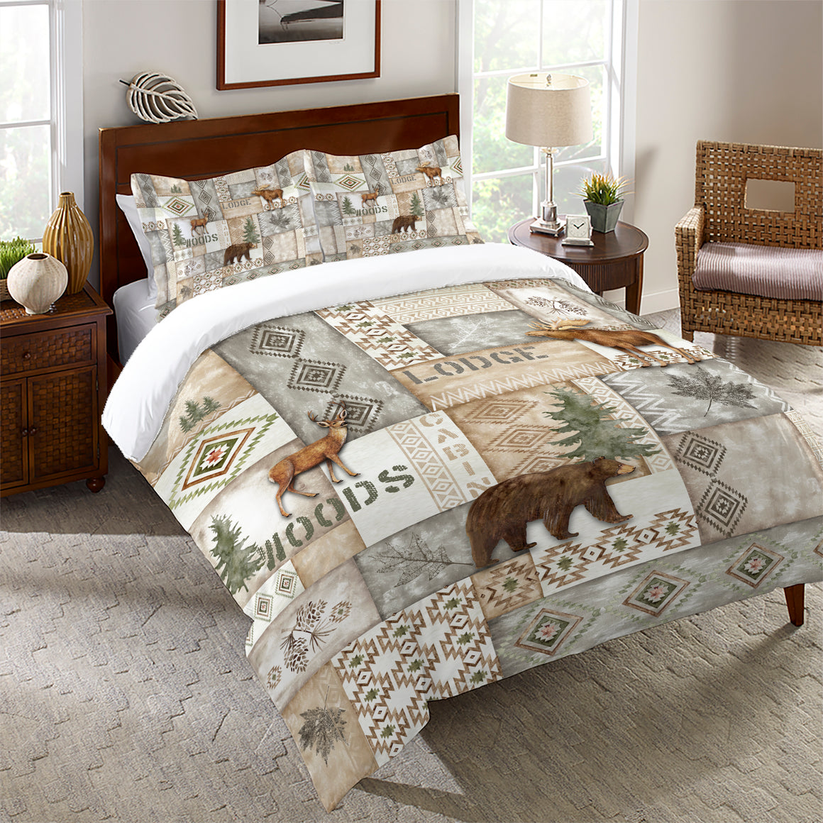 Trail Ridge Gray Comforter