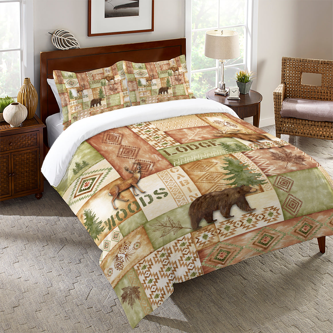 Trail Ridge Rust Comforter