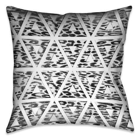 Leopard Geometric Indoor Decorative Pillow