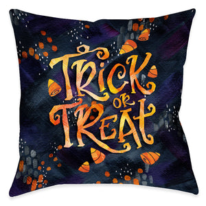 Candy Corn Treat Indoor Decorative Pillow