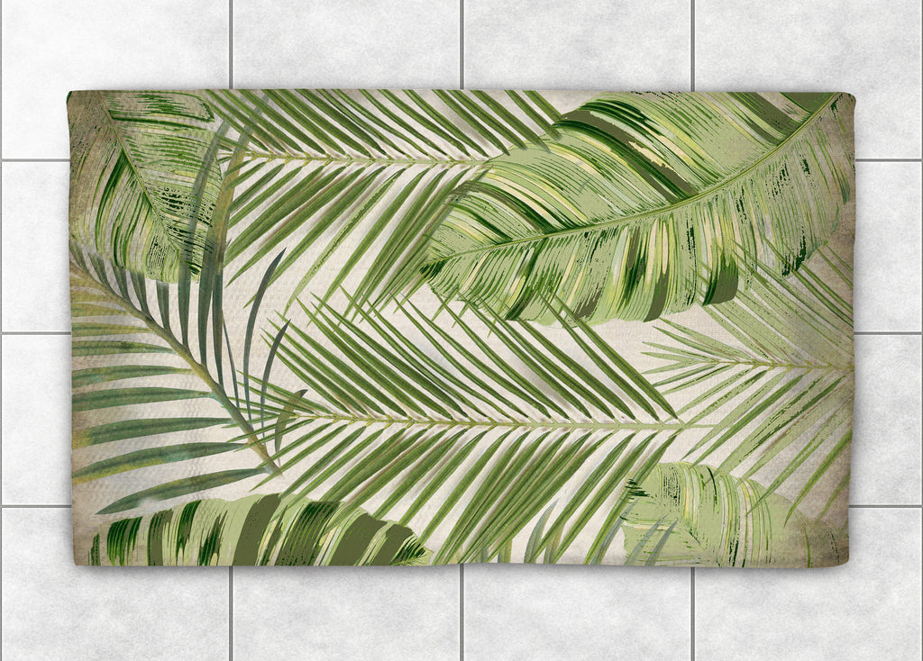 Tropic Palms Accent Rug