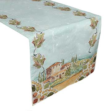 Tuscan Breeze Table Runner