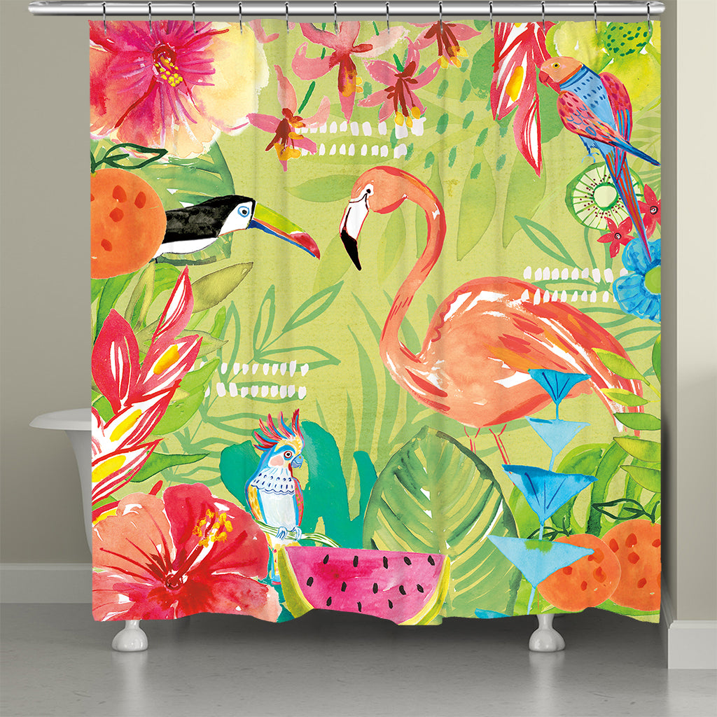 Tutti Fruity Stay Wild Shower Curtain