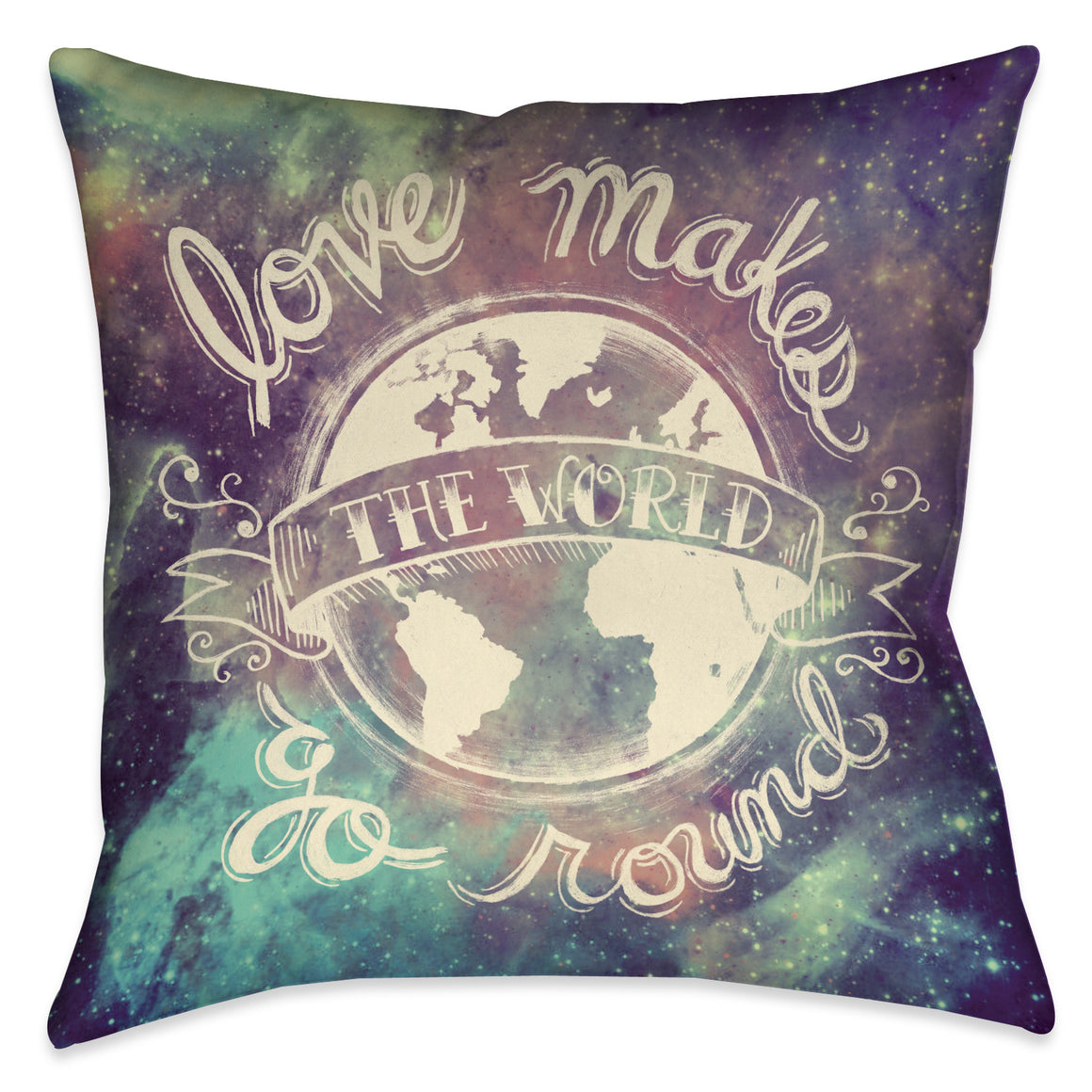 Universe Galaxy Indoor Decorative Pillow