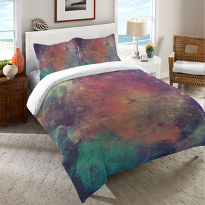 Universe Galaxy Duvet Cover