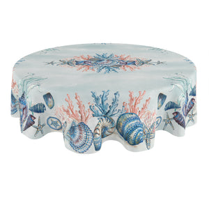 Venice Beach Round Tablecloth