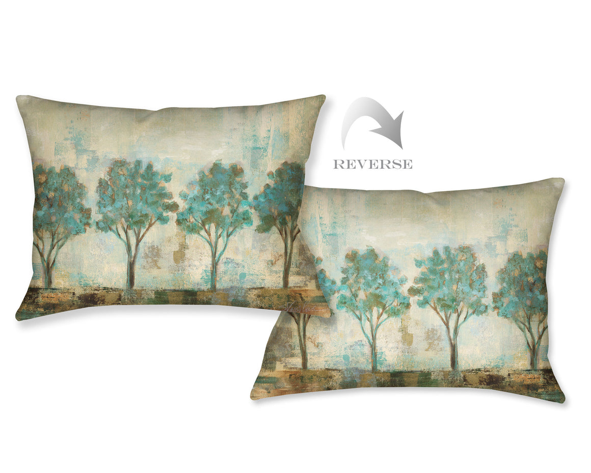 Verdi Trees III Indoor Decorative Pillow