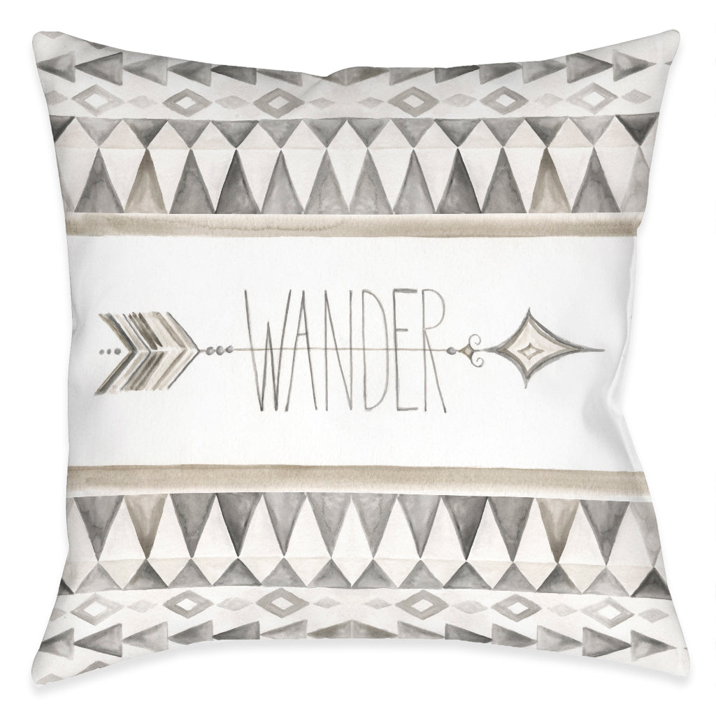 Wander Outdoor Decorative Pillow