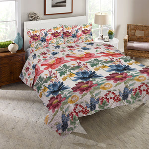 Watercolor Fall Reversible Quilt