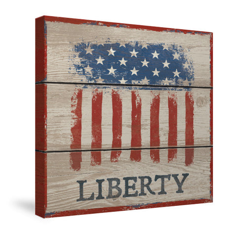 American Flag - Liberty Canvas Wall Art