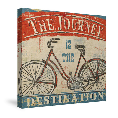 Beautiful Ride II Canvas Wall Art