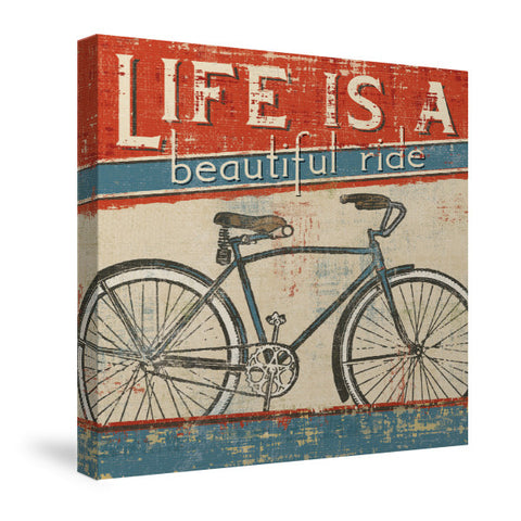 Beautiful Ride I Canvas Wall Art