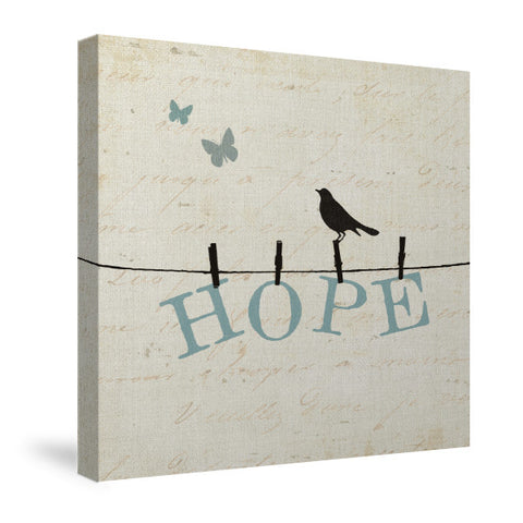 Bird Talk I Canvas Wall Art