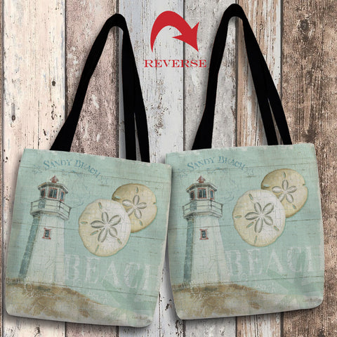 Beach House I Canvas Tote Bag