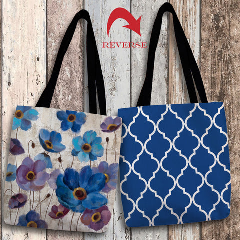 Bold Anemones I Canvas Tote Bag