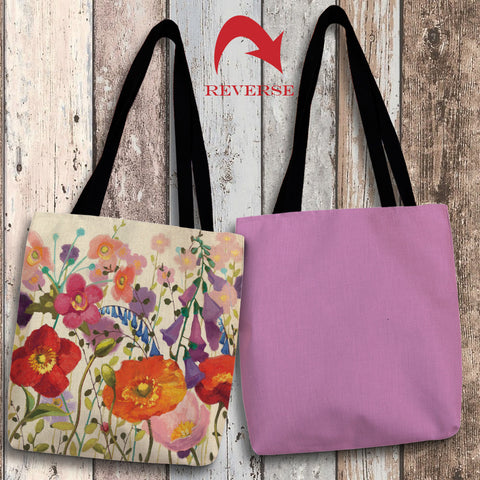 Blossoming Printemps III Canvas Tote Bag