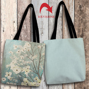 Dogwood Blossoms I Canvas Tote Bag