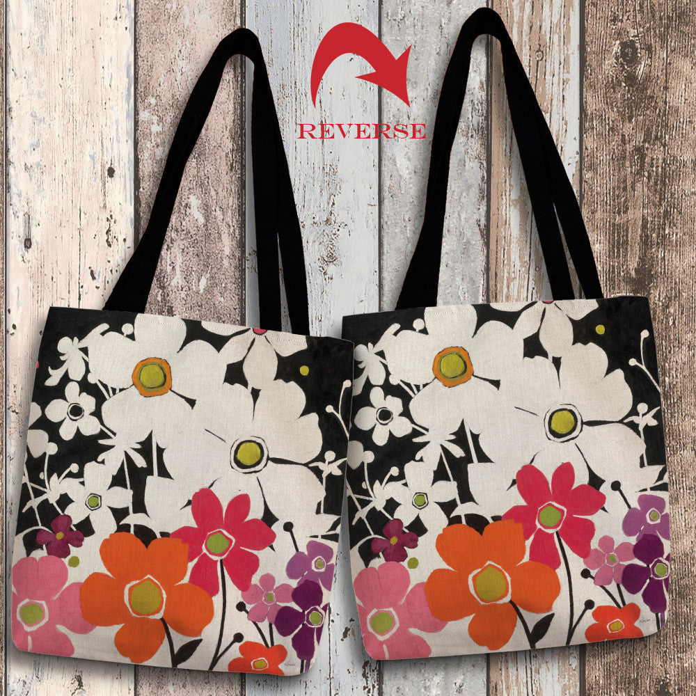 Flower Power I Canvas Tote Bag
