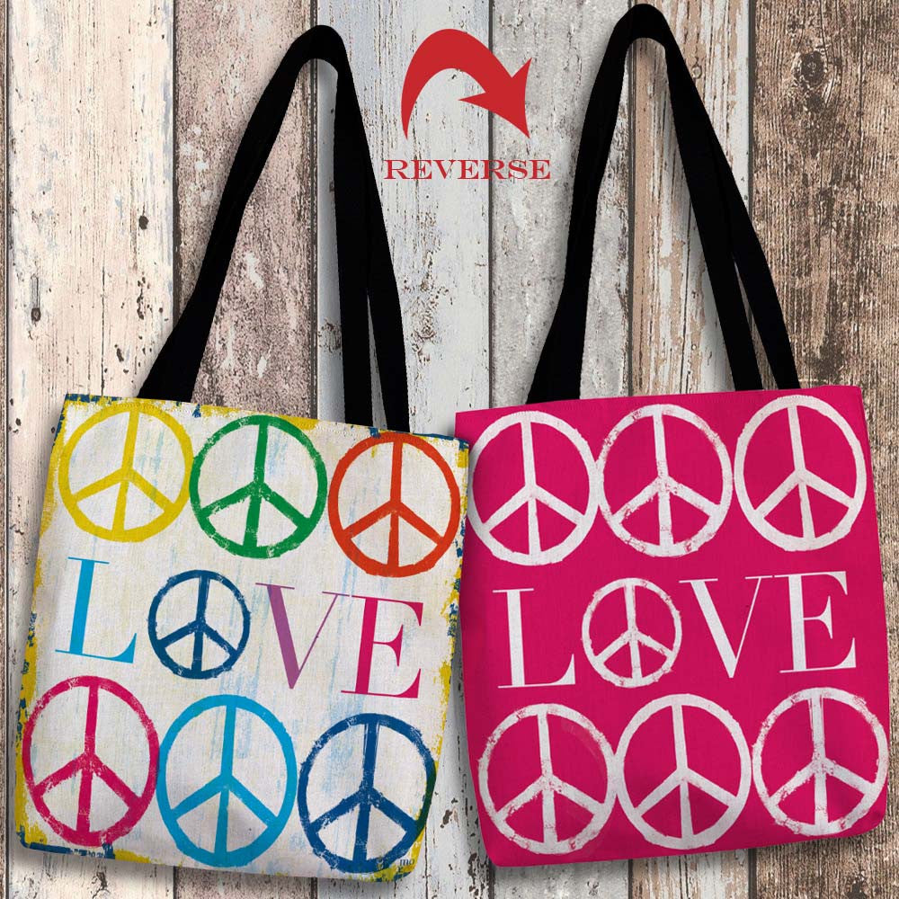 Love Canvas Tote Bag