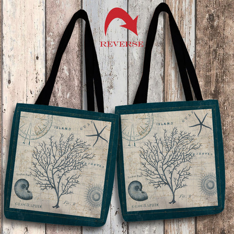 Ocean Life IV Canvas Tote Bag