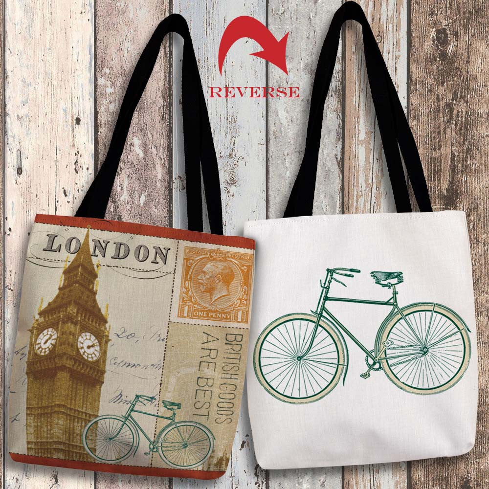 Postcard from London II Canvas Tote Bag