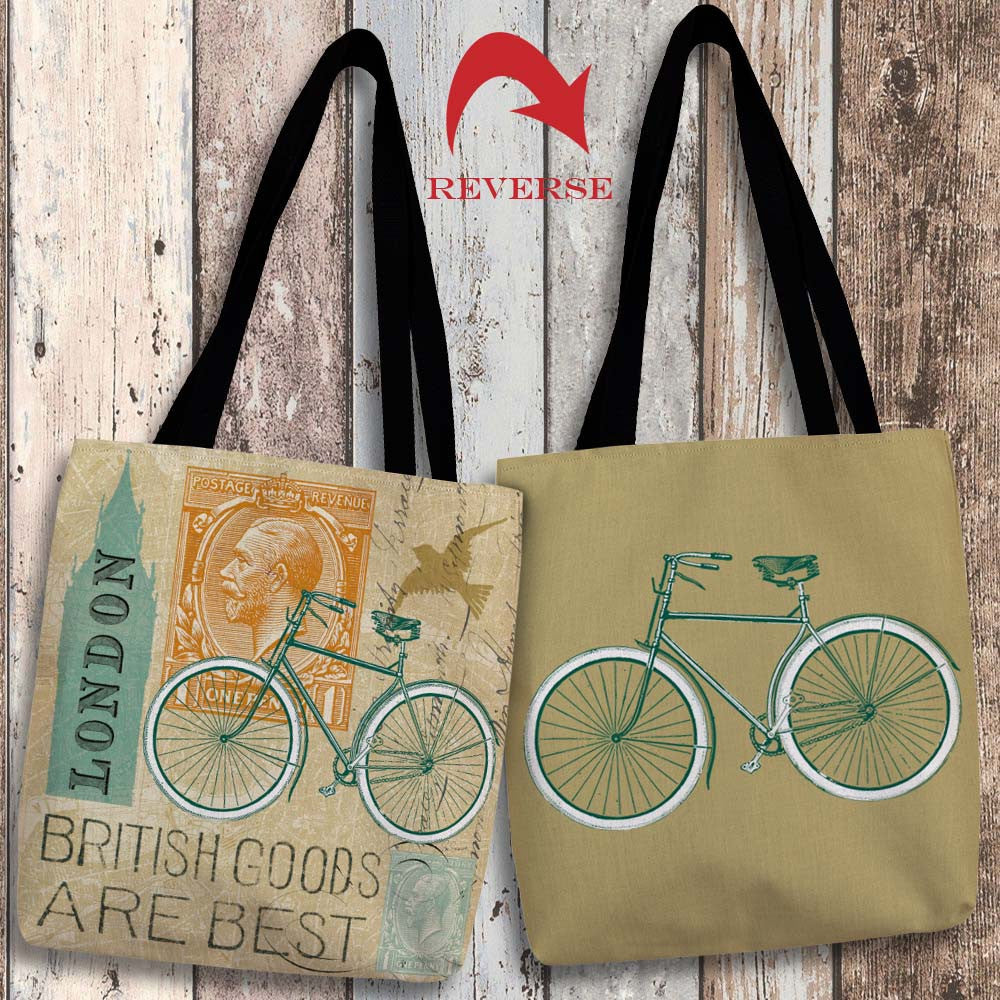 Postcard from London Canvas Tote Bag