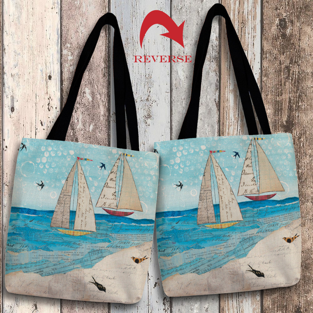 Sailing the Seas Canvas Tote Bag