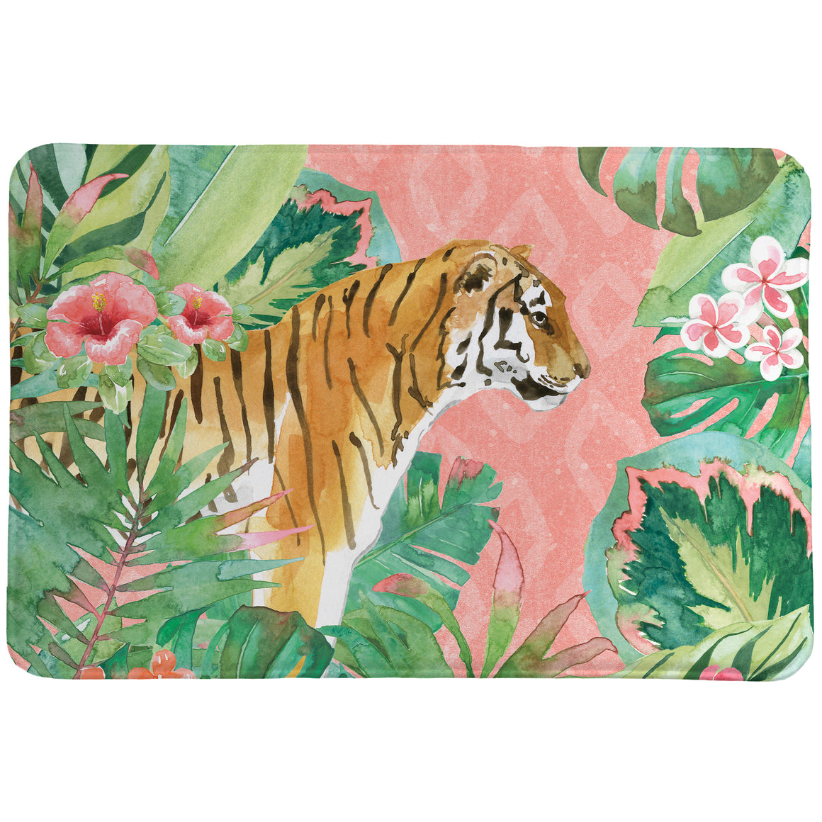 Tiger in the Jungle Memory Foam Rug