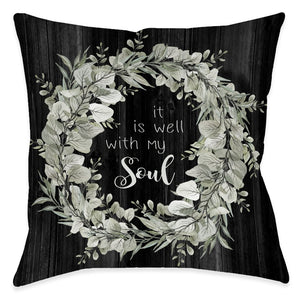 Well With My Soul Indoor Decorative Pillow