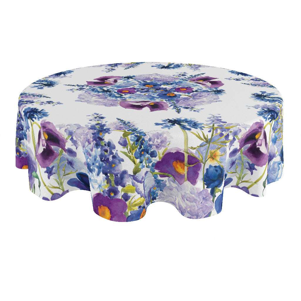 Wild Garden Round Tablecloth
